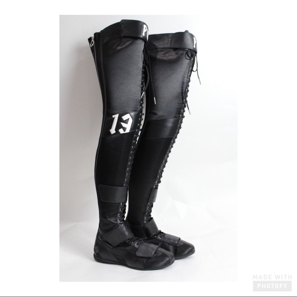 Puma Fenty by Rihanna Eskiva Women s OTK Boots 4e9d5711d